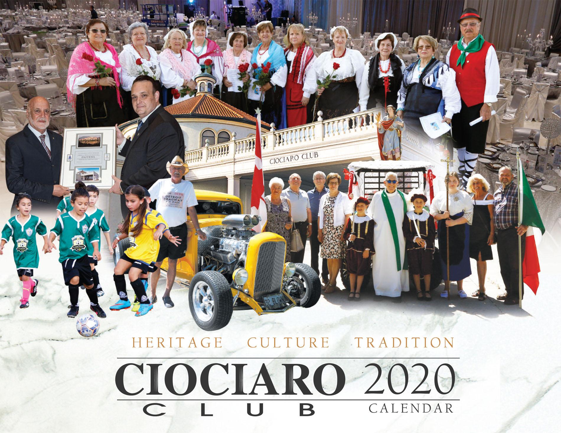 Ciociaro Club 2020 Calendar