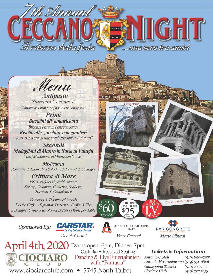 Ceccano Night - POSTPONED