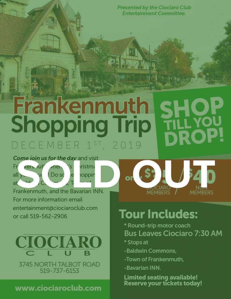 Frankenmuth Shopping Trip